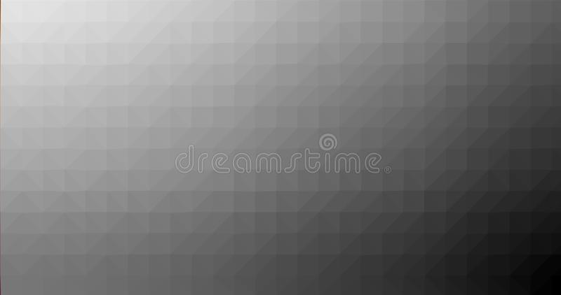 Grey Gradient Low poly Triangular Geometric Polygonal Square Blur glass Abstract Vector Background royalty free illustration