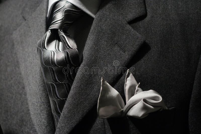 Grey jacket & tie
