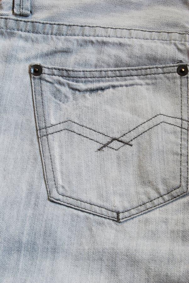 Jeans Back Pocket Texture Grey Jeans Back Pocket...