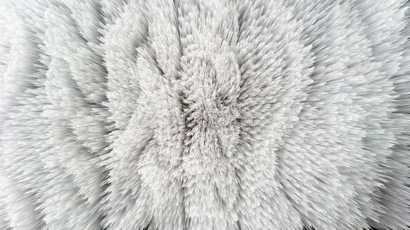 Grey Knitting Wool Closeup Abstract Background vector illustration
