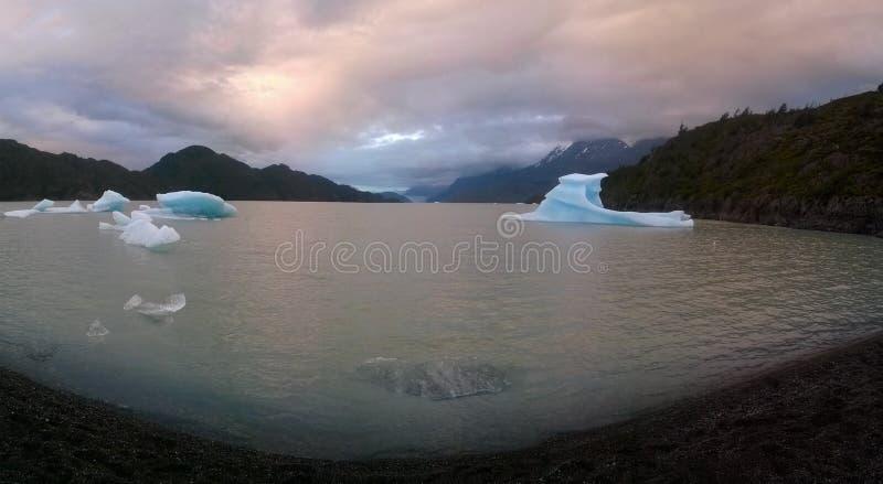 Grey Lake foto de archivo libre de regalías