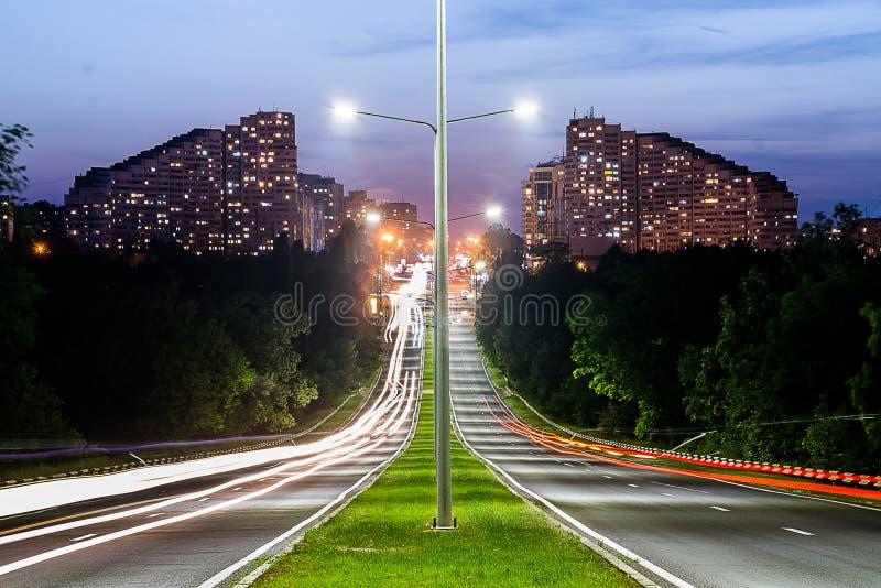 Grey Lamp Port Between Grey Concrete Road Free Public Domain Cc0 Image