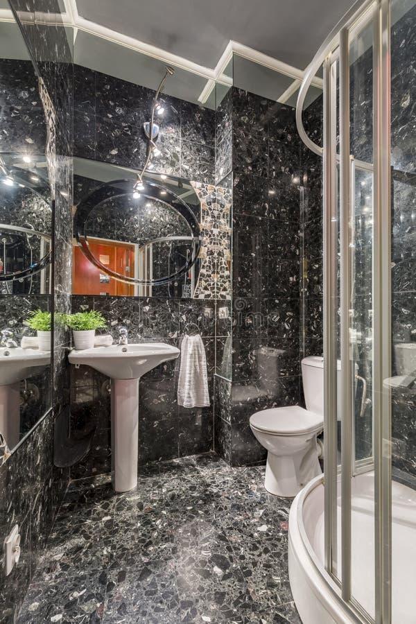 Marble Bathroom Stock Photo Image Of Tile Indoor Image