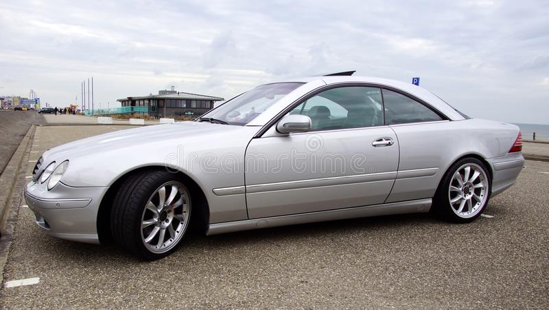 Grey Mercedes Brabus stockfotografie