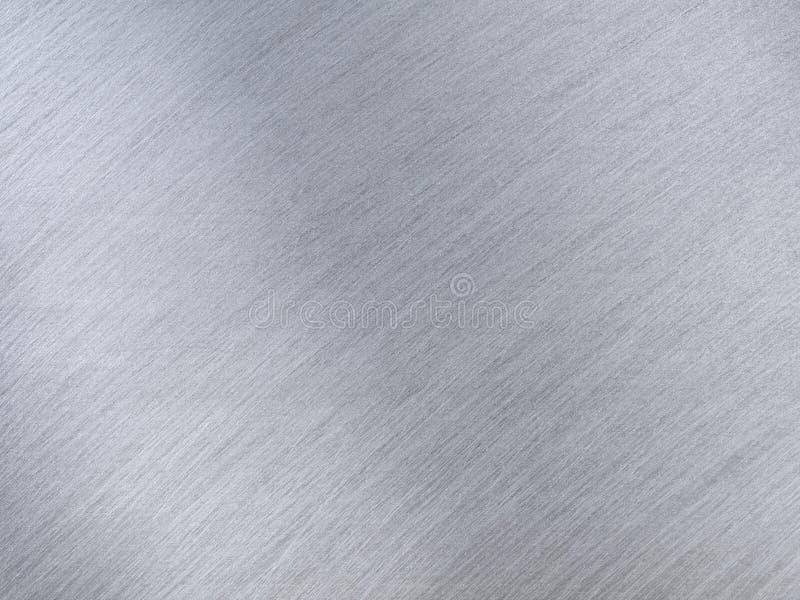 Grey Metal Textures léger avec des rayures de réflexion image stock
