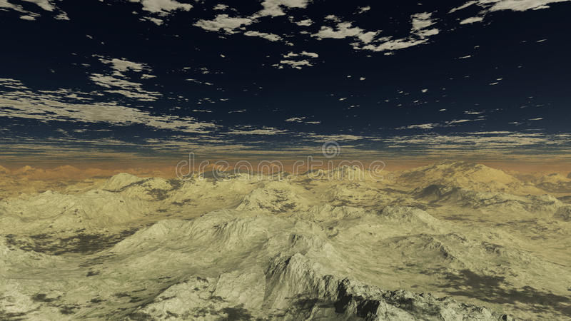 Grey Mountains 1 imagem de stock