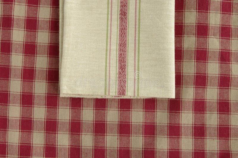Download Grey napkin stock photo. Image of textile, check, stripe - 10774058
