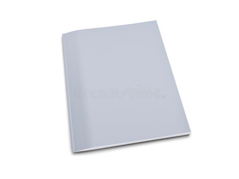 Grey notebook stock illustration