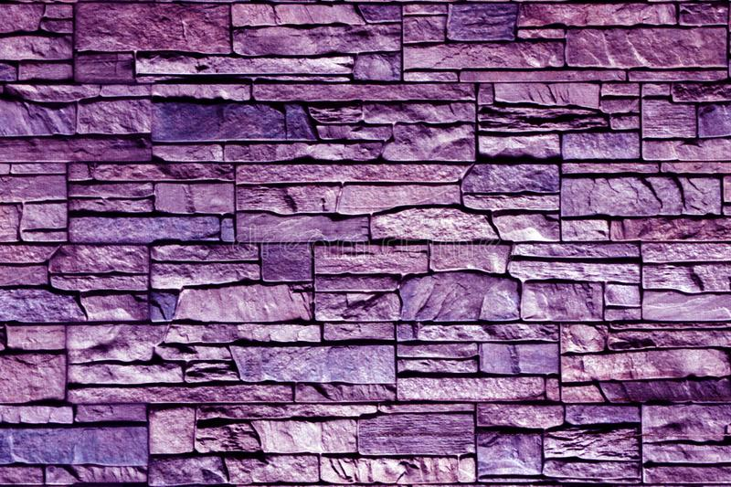 Grey pattern of decorative brown grey slate stone wall surface stock photos