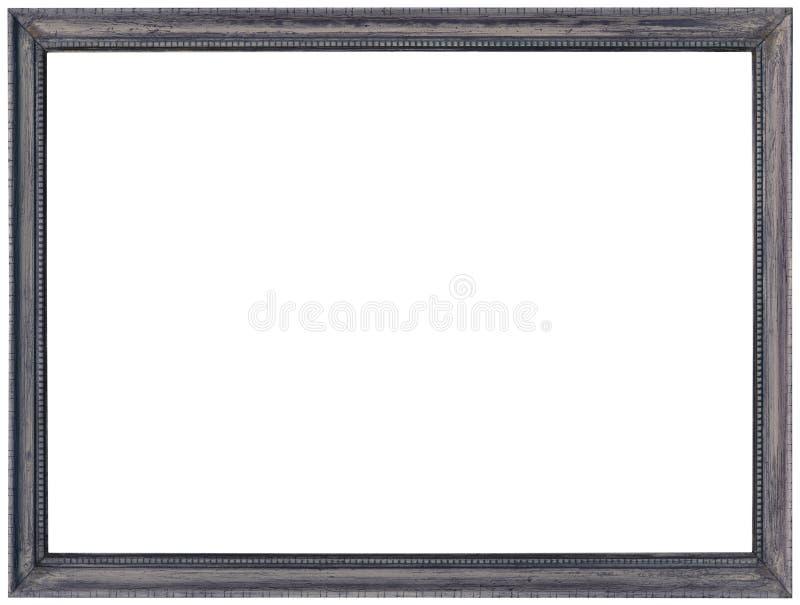 Grey Photo Frame Cutout photographie stock libre de droits
