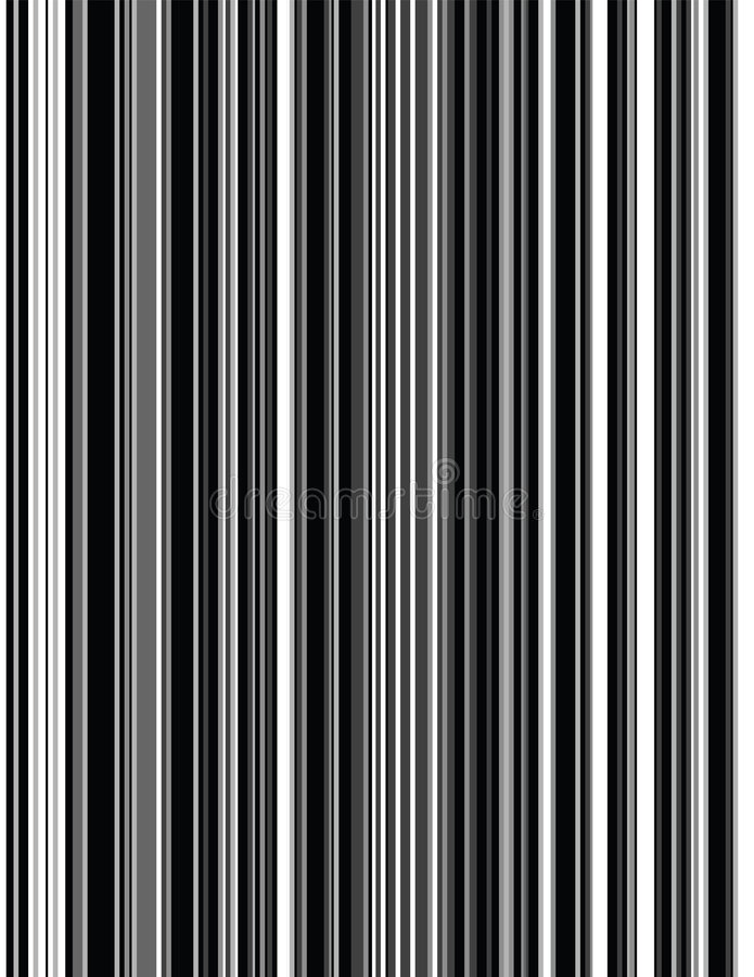 Grey Pinstripes stock illustration