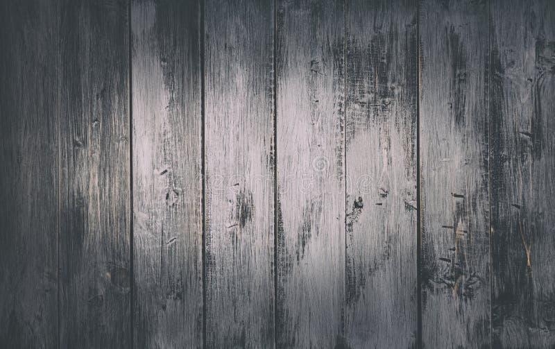 Grey Planks Background di legno rustico immagini stock libere da diritti