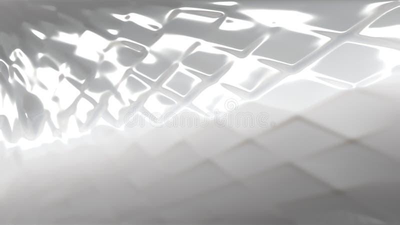 Grey Plastic Sheet Texture royalty illustrazione gratis