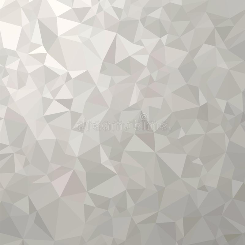 Download Grey Polygonal Background Triangular Pattern Low Poly Texture Abstract Mosaic Modern Design