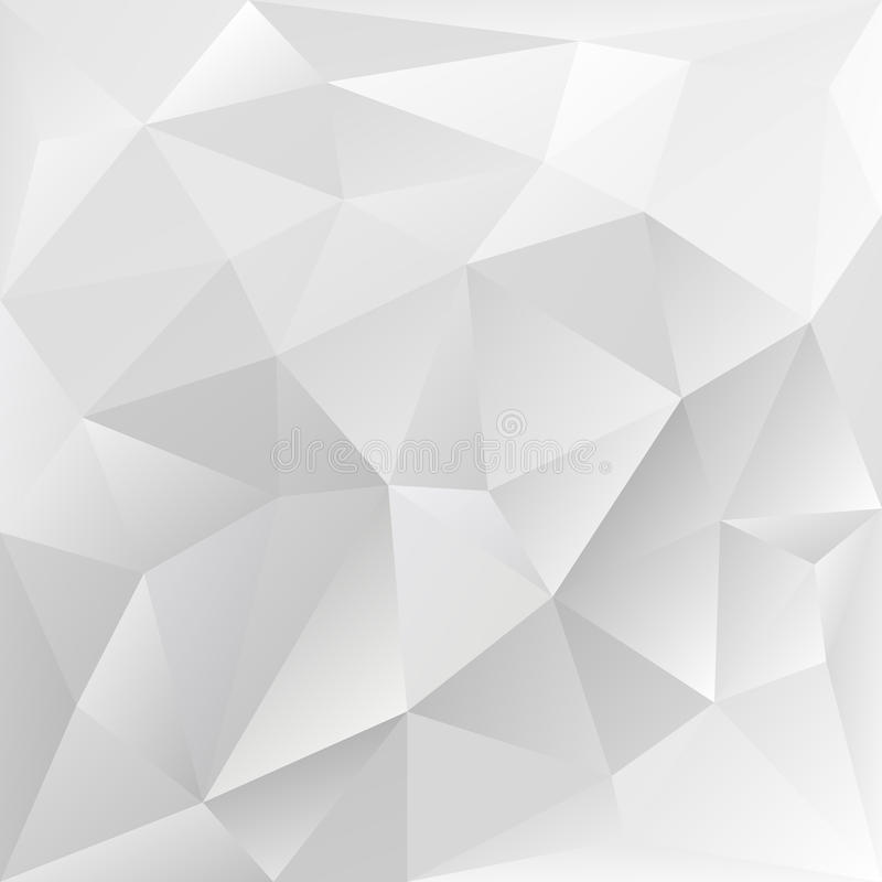 Grey polygonal texture, corporate background royalty free illustration
