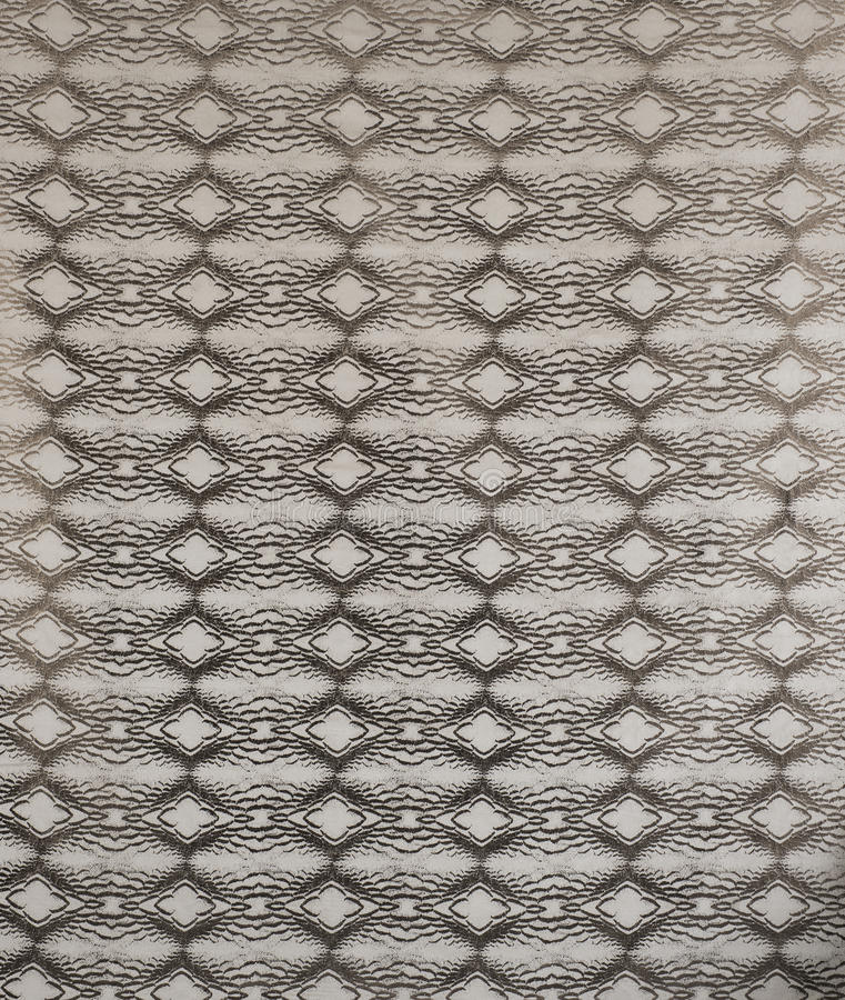 Grey Retro Pattern Wallpaper Swatch fotos de archivo libres de regalías