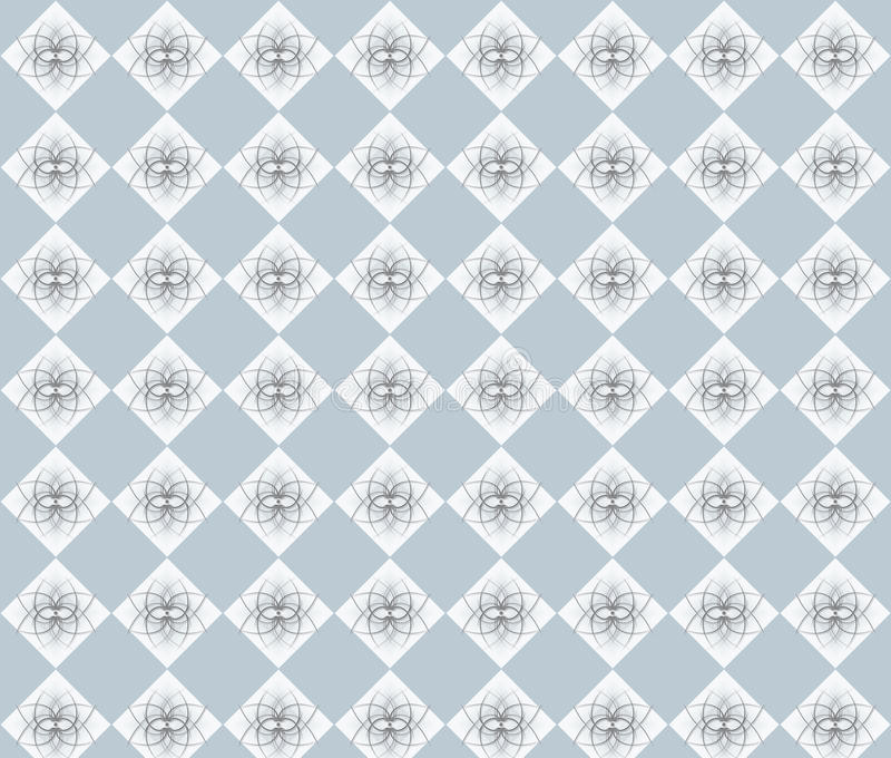 Grey rhombuses stock photo
