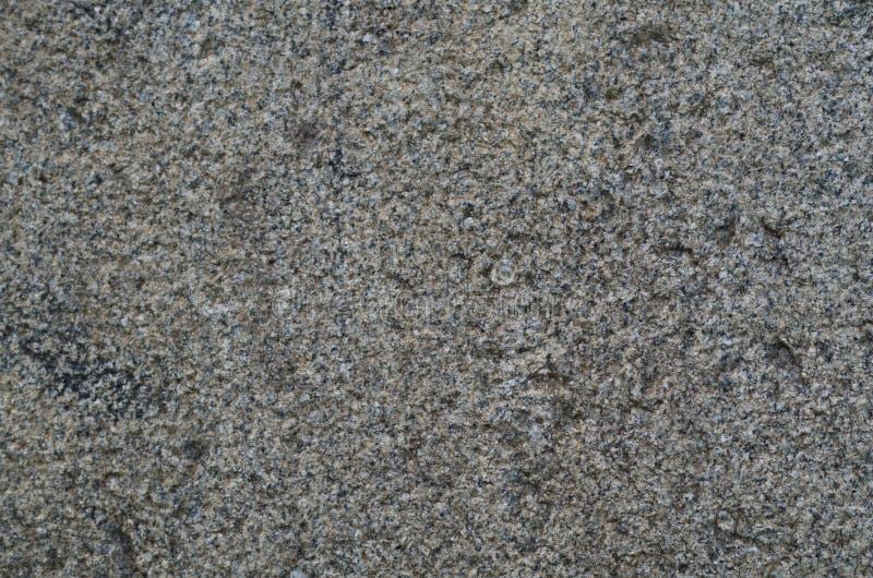 Rough Granite Stone : Grey rough granite stock image of exterior macro
