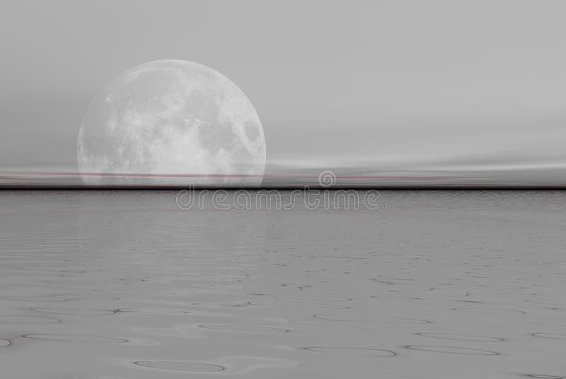 Download Grey sea stock illustration. Illustration of abstract, logos - 909683