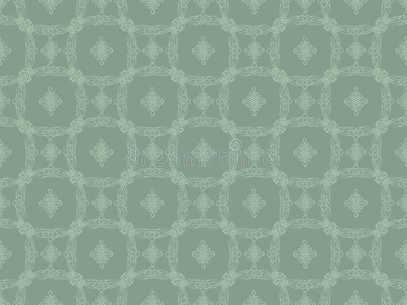 Download Grey Seamless Wallpaper Pattern Stock Illustration - Illustration of color, abstract: 18261199