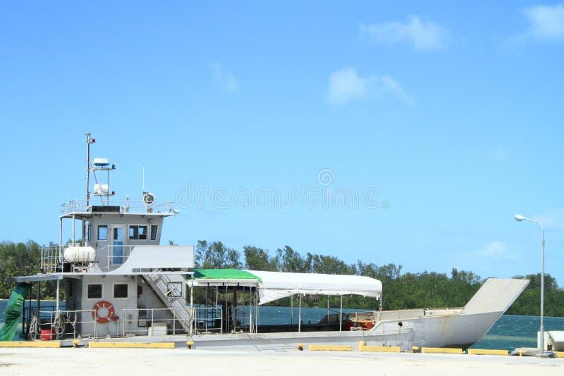 Sea boat royalty free stock photos