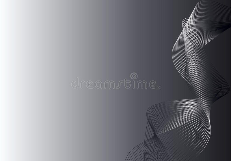 Grey and silver abstract background royalty free illustration