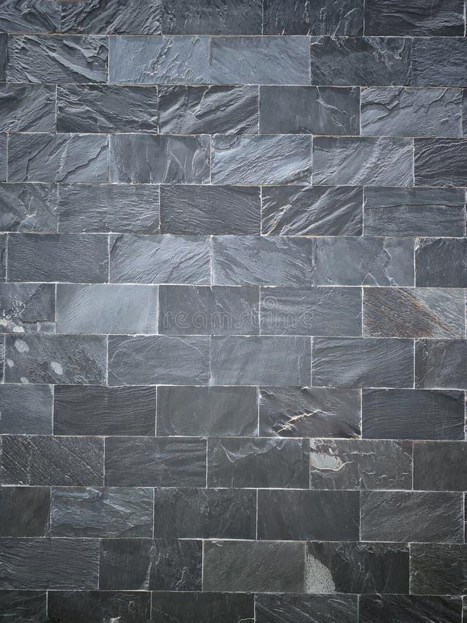 Grey slate wall background texture stock photo