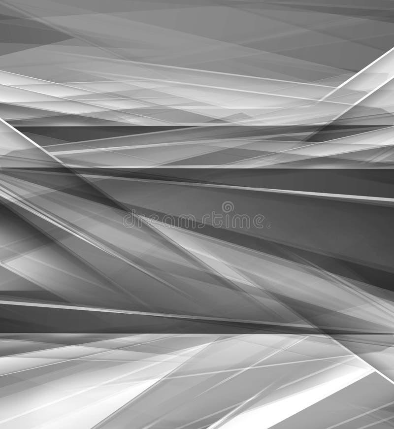 Grey soft abstract background for various design artworks stock illustration