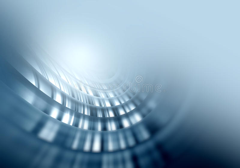 Grey soft glowing abstract background stock illustration