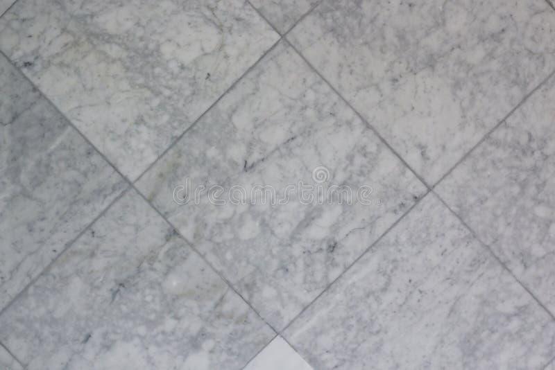 Grey Square Marble Tile Texture royalty-vrije stock fotografie