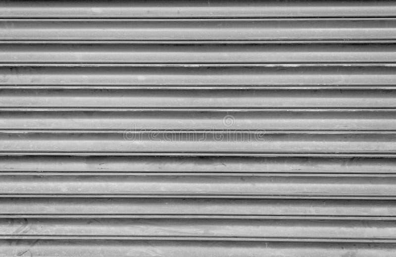 Grey Steel Shutters foto de stock royalty free
