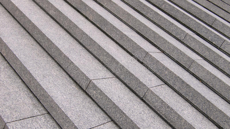 Grey Steps Royalty Free Stock Photo