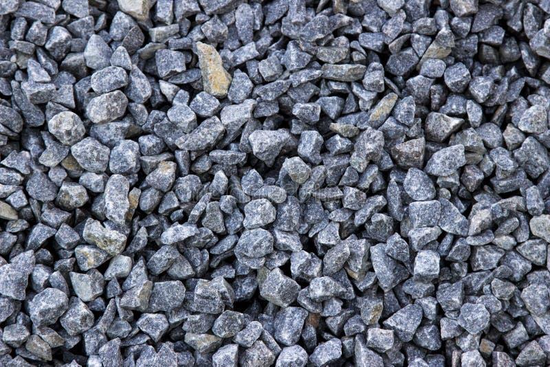 Grey Stone esmagado, fundo da textura fotos de stock royalty free