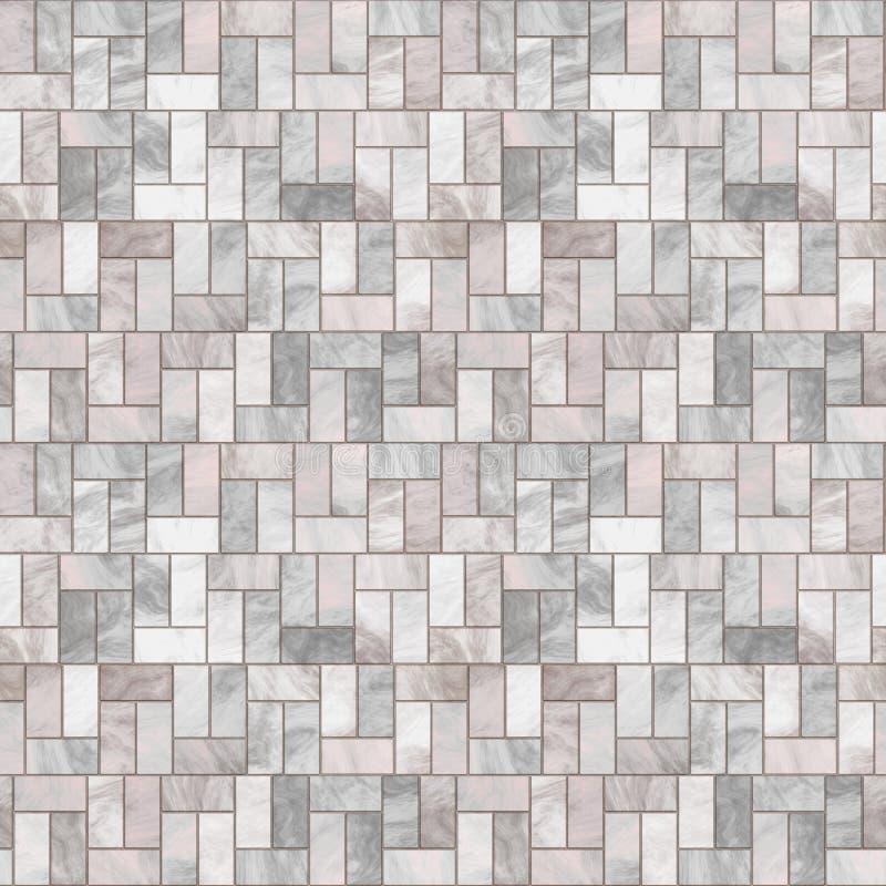 Grey Stone Floor Seamless Pattern