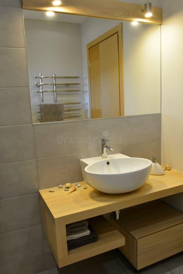 Modern bathroom design royalty free stock image