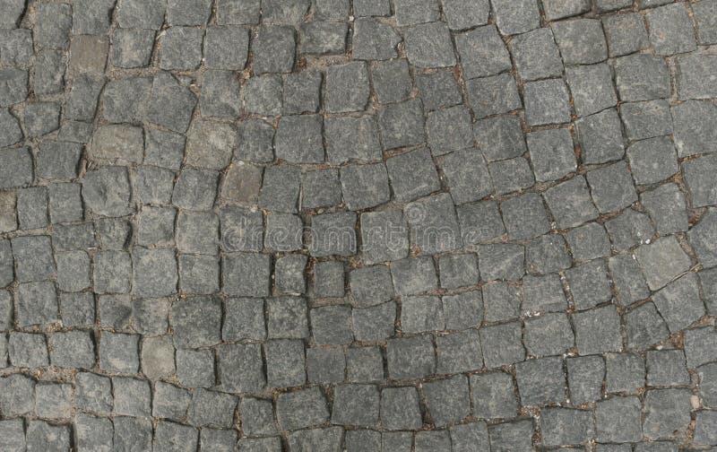 Grey stone road royalty free stock photography