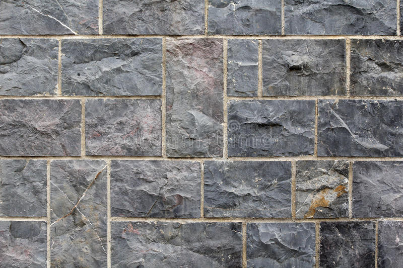 Grey stone wall royalty free stock image