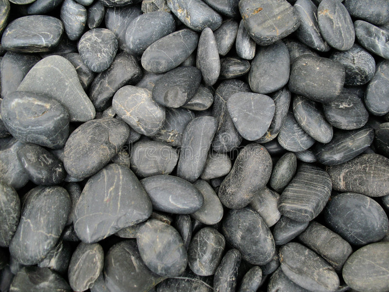 Grey stones. Natural grey stones for background