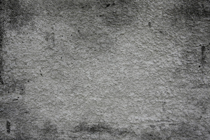 Grey Stucco Stock Photo