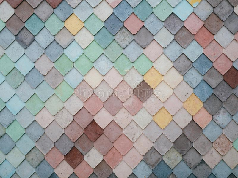 Grey Teal Yellow And White Tiles Free Public Domain Cc0 Image