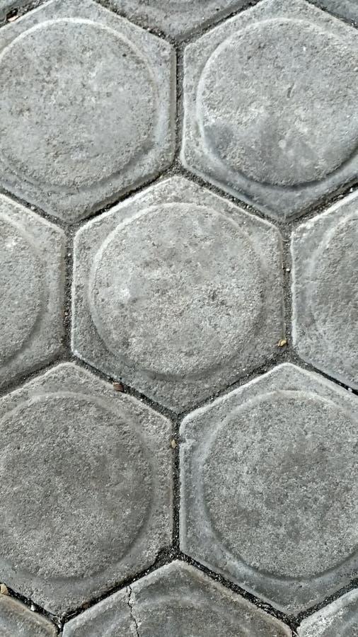 Grey Tiles avec grunge texturisé photos libres de droits
