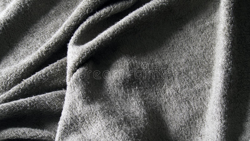 Download Grey towel terry cloth stock image. Image of bathroom - 25911767