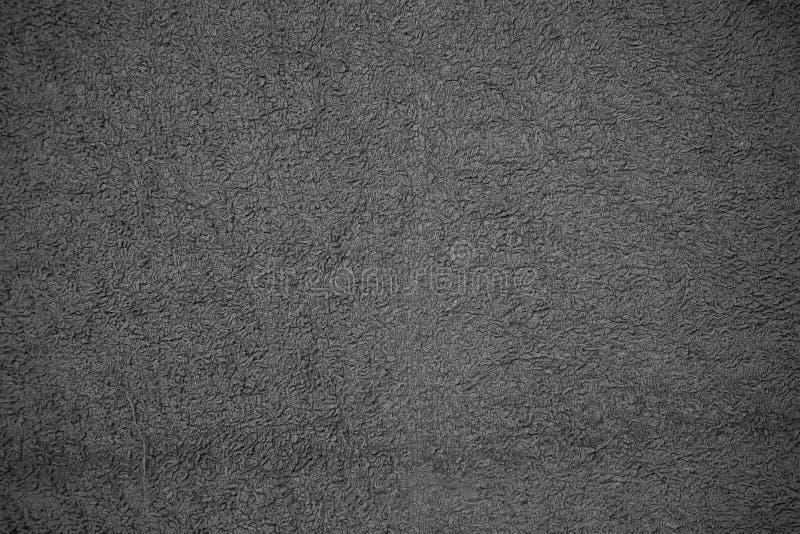 Grey Towel Texture stockfoto