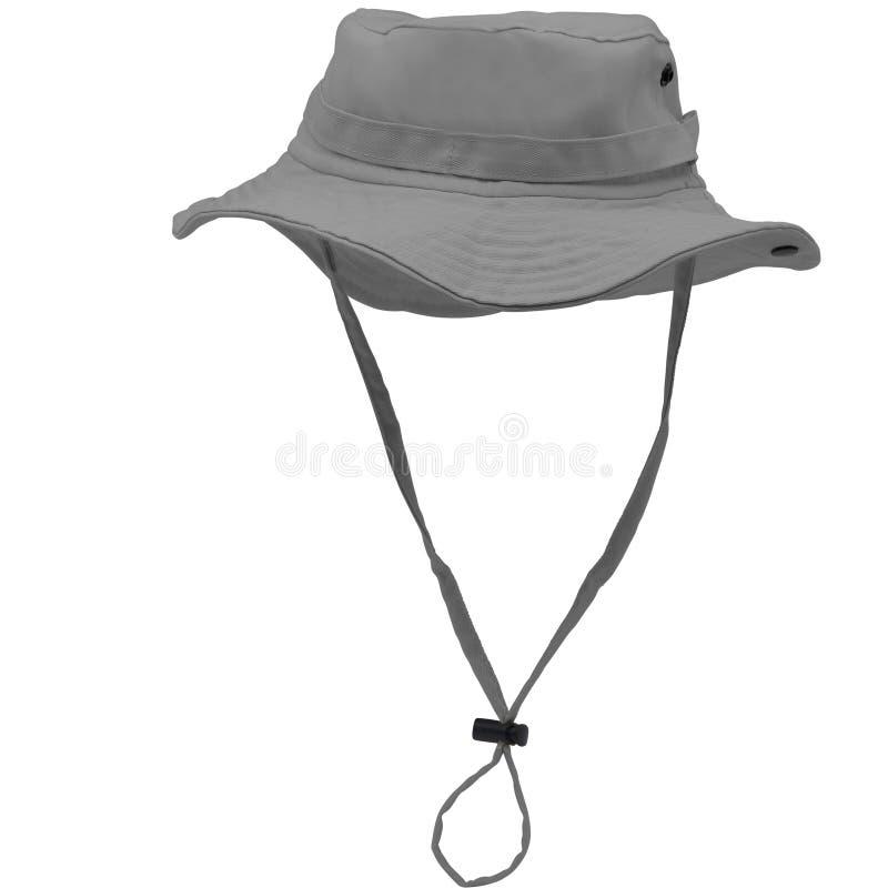 Grey Toy Explorer Hat illustration stock