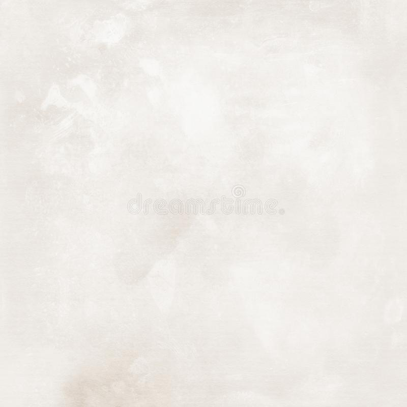 Grey vintage paper, paper texture, grey, white, rough, blank, spots, streaks, space for text, retro, vintage 皇族释放例证