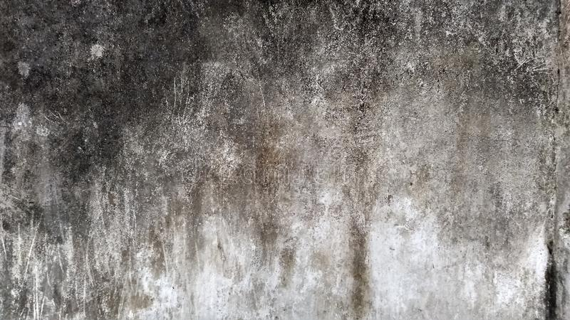 Grey Wall met Grunge-Textuur royalty-vrije stock foto's