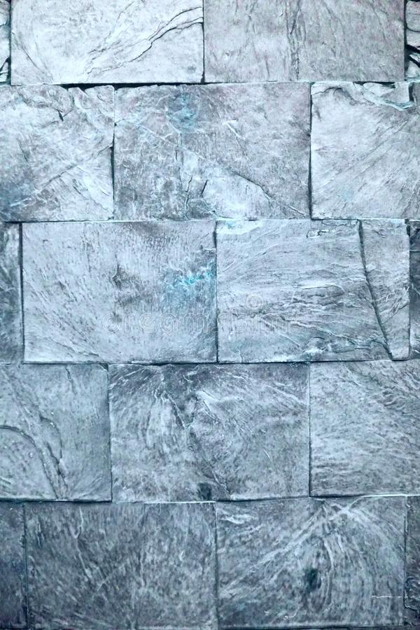 The grey wall texture pattern. In the street royalty free stock image