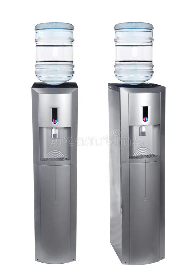 Free Grey Water Cooler Royalty Free Stock Image - 24901396