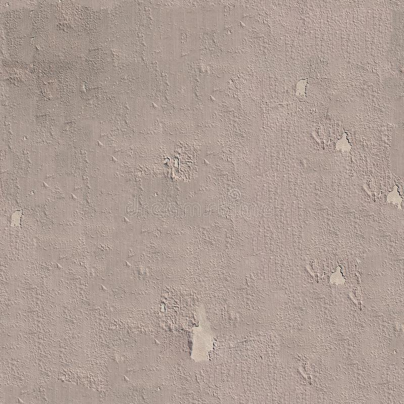 Grey weathered painted wall seamless texture or background. royalty free stock photo