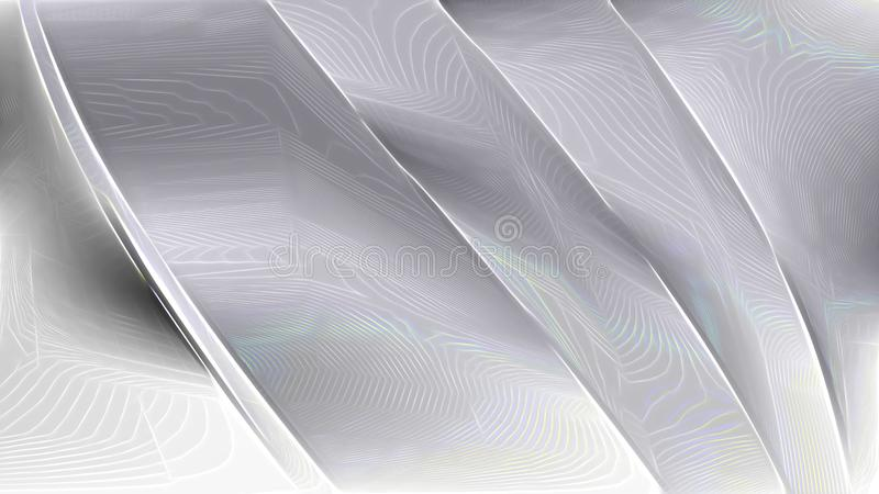 Grey and White Abstract Texture Background Design stock illustration